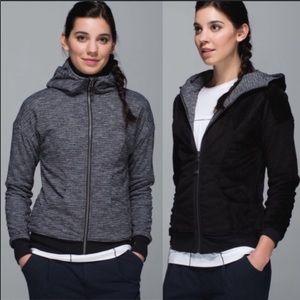 Lululemon reversible embrace luscious hoodie